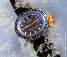 EDOX Hydro Sub Automatic Date North Pole Mission Limited Edition | Time and Watches