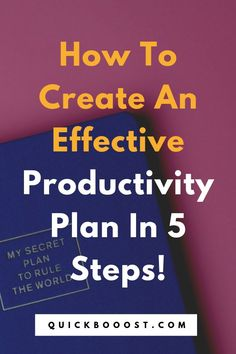 You need a productivity plan! Not sure what it is or how to create one though? This post is for you. Learn how to create a productivity plan and start doing more with your time. Time Management Activities, Time Management Printable, Time Management Quotes, Management Books, Good Time Management, Productive Things To Do, Things To Do When Bored, Things To Do At Home, Productive Day