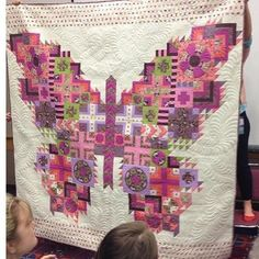 Tula Pink Butterfly Quilt! check this site 4 trade, http://www.ninaohmanarts.com/food-and-trade.html