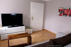 Neues Wohnzimmer-Design  #wohnzimmer #living #livingroom #interior #deco #decor #palisander #chambre #braun #mokka #design Diy Interior, Flat Screen, Living Room, Blog, Organizing Clutter, Interior, Colors, Deko, Flatscreen