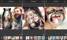 PIP Camera es una excelente app Android gratuita para aplicar originales marcos y filtros a nuestras fotografías para convertirlas en obras de arte.