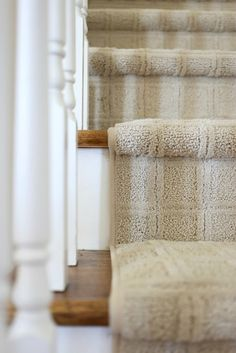 Savvy Southern Style : The New Carpet Cost Of Carpet, Diy Carpet, Wall Carpet, Bedroom Carpet, Stair Carpet, Magic Carpet, Textured Carpet, Patterned Carpet, Brown Carpet