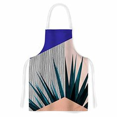 KESS InHouse Cafelab Summer Geometry Artistic Apron 31 x 3575 * Check out this great product. Kitchen Sink Accessories, Gardening Apron, Cook Up A Storm, Household Chores, Coral Blue, Home Improvement Projects, Geometry, Iphone Cases, Tapestry