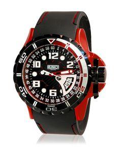MUNICH 10 ATM Reloj con movimiento cuarzo japonés Man Mu+106.1C 47 mm en Amazon BuyVIP
