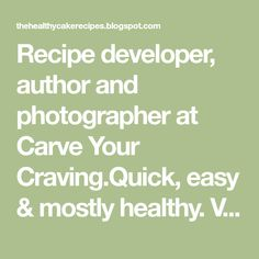 Recipe developer, author and photographer at Carve Your Craving.Quick, easy & mostly healthy. Vegan and vegetarian eats and bakes. Chicken Stuffing Casserole, Tuna Casserole Recipes, Noodle Casserole, Italian Lemon Cake, Weight Watchers Muffins, Lemon Zucchini Bread, Clean Your Liver, Homemade Pita Bread, Chicken Enchilada Bake