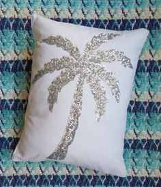 Palm Tree Pillow -