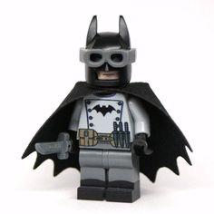 Lego Gaslight Batman DC Comics Minifigure PRINTED Minifig by ShamrockMinifigs on Etsy