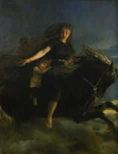 """Nótt - Goddess of night - In #Norse #mythology, Nótt (Old Norse """"night"""") is night personified."""