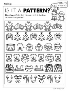 FREE PRINTABLES Free Preschool, Preschool Printables, Preschool Classroom, Kindergarten Math, Preschool Activities, Free Printables, Classroom Ideas, Christmas Worksheets, Christmas Math