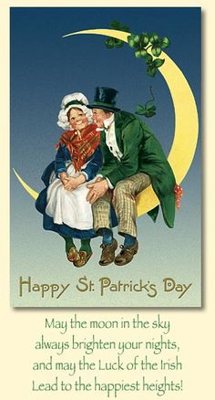 vintage st patricks day cards | Merck Familys Old World Christmas St. Patricks Day Cards