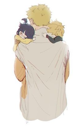 Uzumaki family. You finally have what you always wanted NARUTO ;-; A FAMILY~~~ (and acceptance ;)