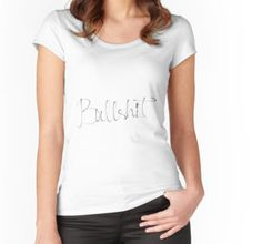 """Bullshit"" T-Shirts & Hoodies by calfuray | Redbubble"