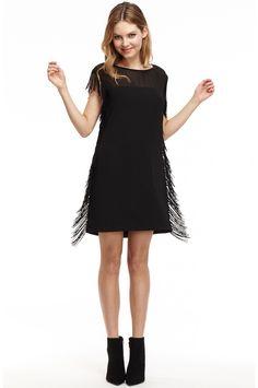 Leah Fringe Dress