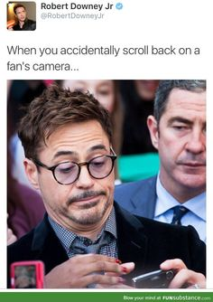 RDJ posted this on his Twitter