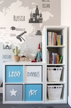 Make gorgeous custom furniture easily with 18 super creative IKEA hacks: dressers, cabinets, benches Boys Bedroom Decor, Kids Bedroom Furniture, Custom Furniture, Diy Bedroom, Big Boy Bedrooms, Furniture Ideas, Baby Room Design, Toddler Rooms, Toy Rooms