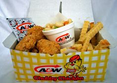 April Fool's A&W and KFC - so cute and looks almost like the real thing!