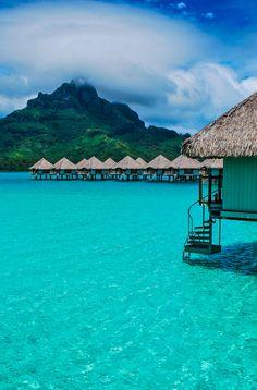 Bora Bora, French Polynesia #wanderlust #vacation #solangeles