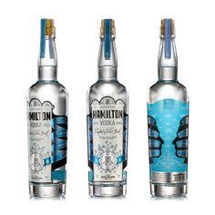 Alexander Hamilton Vodka — The Dieline