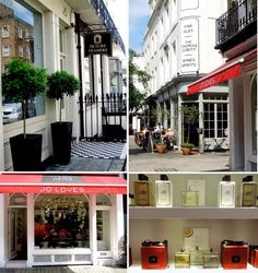 Jo Loves, 42 Elizabeth St, London SW1W 9NZ | Jo Malone's new 'Jo Loves' shop opened in 2013, seven years after she sold her last remaining shares of her previous company, which was bought in 1999 by Estée Lauder.