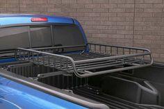 Tacoma Truck Bed Crossbars with Yakima Rack - © Toyota Motors, Inc. Truck Mods, Truck Camper, Motorcycle Camping, Camping Gear, Camping Stuff, Cool Trucks, Fire Trucks, Volkswagen Amarok, Vw Amarok