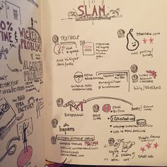 Demo Slam - GAFE Summit Vancouver 2015 Sketch Notes, Slammed, Little Red, Vancouver, Homeschool, Bullet Journal, Organization, House, Organisation