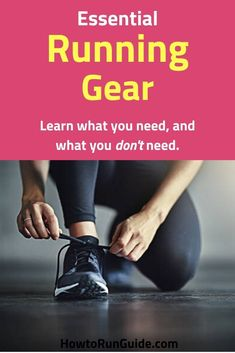 New runners often wonder what running gear for beginners is required - well, here's the essential Running Gear for Beginners guide to get you started right. Track Quotes, Running Quotes, Running Motivation, Workout Quotes, Running Gear, Running Workouts, Running Humor, Workout Gear, Running For Beginners