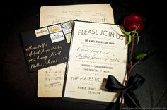 Phantom of the Opera Wedding Invitations - Wedding Newsday