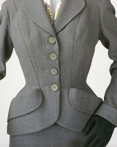 Lachasse 1954 Two-Piece Suit | LACMA Collections