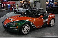 Custom Mazda Miata   Custom Mazda Miata MX-5 champ car world series at 2008 Auto Show