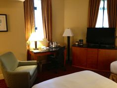 Our newly renovated guest rooms have in-room safes, refrigerators, and new furniture!
