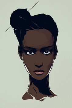 Black Girl Illustrated.