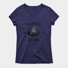 Vortex Club Life Is Strange Womens V-Neck T-Shirt