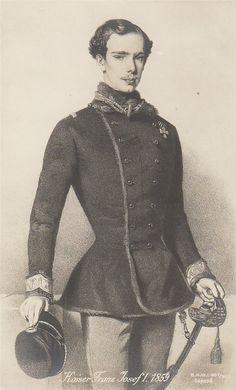 Kaiser Franz Josef, 1859.