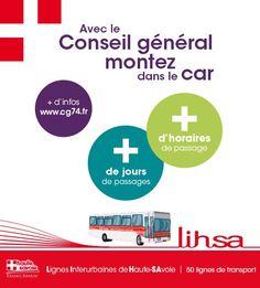 La nouvelle offre de transport en bus, sur le réseau Lihsa