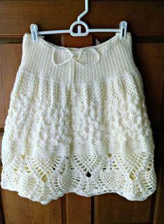 Pretty Pineapples Crochet Skirt Pattern by SuperMomCrochet on Etsy