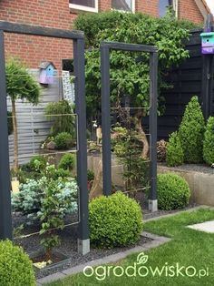 Potager Garden, Garden Trellis, Garden Paths, Lawn And Garden, Garden Beds, Home And Garden, Small Gardens, Outdoor Gardens, Vertical Vegetable Gardens