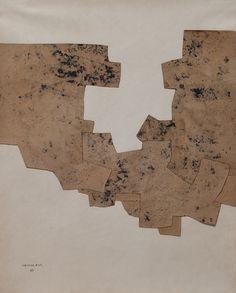 Eduardo Chillida, Untitled, on paper, x cm. Peggy Guggenheim, Kunst Online, Online Art, Action Painting, Painting & Drawing, Modern Art, Contemporary Art, Willem De Kooning, Pretty Art