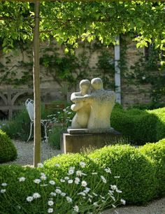 interesting statues...