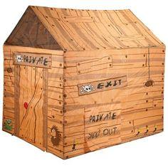 Tent Club House! The safest cubby house :)