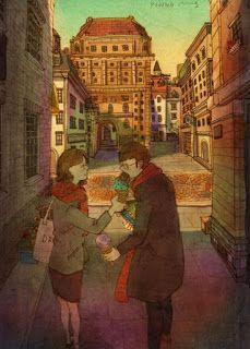 Os pequenos prazeres de uma vida em casal descritos em ilustrações adoráveis - DidiNooz