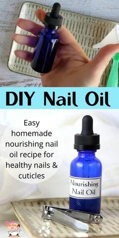 Diy Deodorant, Deodorant Recipes, Natural Deodorant, Cuticle Oil Diy, Nail Cuticle, Cuticle Care, Fingernail Health, Ongles Forts, Nagel Hacks