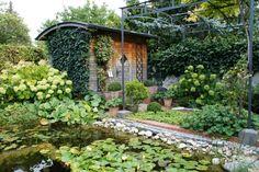 Garten H, Baden bei Wien | Landschaftsarchitektur Schmidt Rennhofer Schmidt, Outdoor Structures, Landscape Diagram, Bathing