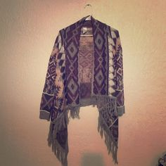 Charlotte Russe cardigan Aztec pattern cardigan. worn once perfect condition Charlotte Russe Sweaters Cardigans
