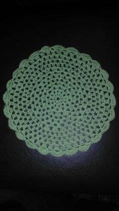 Jogo de toalhinhas estilo mandala n° 1 - Verde claro / Pistache