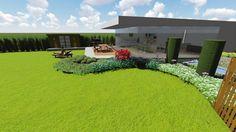 3d tuinontwerp moderne landelijke tuin