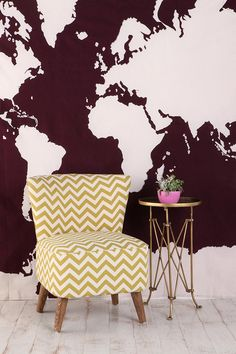 love the wall, love the chair