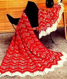 crochet pattern - california ranch afghan