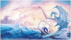 John Howe's dragons are some of my favorites
