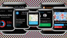 The digital agency Huge envisions how Uber, Instagram, Foursquare, and more major apps might work on the Apple Watch.