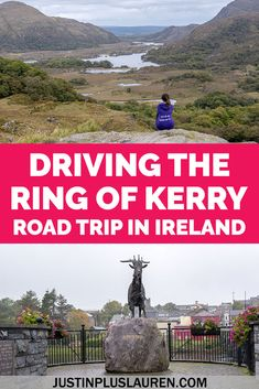 The Ring of Kerry is one of the most beautiful and iconic regions of Ireland. It's easy to plan a road trip of the Ring of Kerry in a day. Driving the Ring of Kerry is an amazing experience, and here's how to plan your visit. Ring of Kerry Ireland | Ring of Kerry Map | Ring of Kerry Highlights | Ring of Kerry Stops | Travel Blog | Travel Guide | Ring of Kerry Itinerary | Ireland Road Trip | Ireland travel best spots | Ring of Kerry road trip | Ireland Road Trip | Best places to visit in…